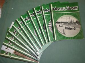 MOTOR SPORT 1960 (February issue missing)